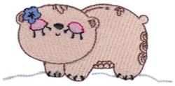 Decorative Sea Creature embroidery design