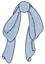Floppy Dog Bow embroidery design