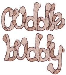 Floppy Dog Cuddle Buddy embroidery design