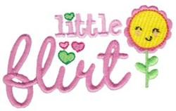 Little Flirt embroidery design