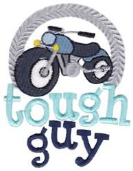 Tough Guy embroidery design