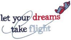 Dreams Take Flight embroidery design