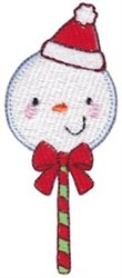 Jolly Holiday Santa Snowman embroidery design