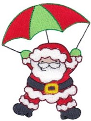 Jolly Holiday Santa embroidery design