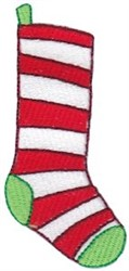 Jolly Holiday Stocking embroidery design