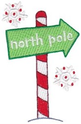 Jolly Holiday North Pole embroidery design