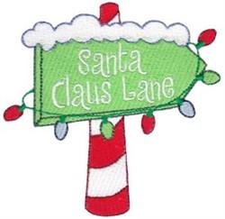 Jolly Holiday Santa Claus Lane embroidery design