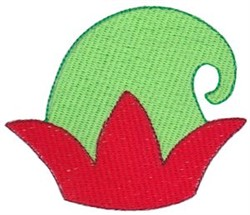 Jolly Holiday Elf Hat embroidery design
