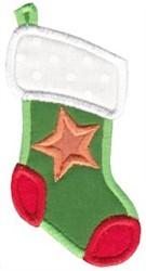Christmas Stocking Applique embroidery design