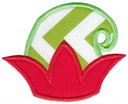 Christmas Elf Hat Applique embroidery design