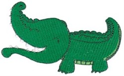 Southern Gator embroidery design
