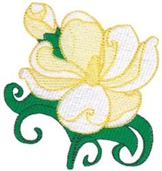 Southern Magnolia embroidery design