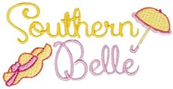 Southern Belle embroidery design
