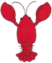 Southern Crawfish embroidery design