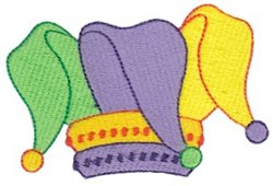 Jesters Hat embroidery design