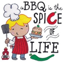 The Spice Of Life embroidery design