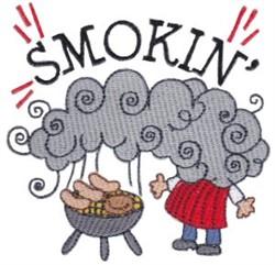 Smokin embroidery design