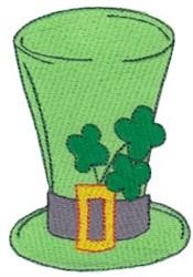 Irish Top Hat embroidery design