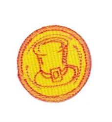 Leprechauns Gold Coin embroidery design