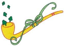 Leprechauns Pipe embroidery design