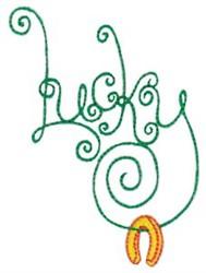 Irish Luck embroidery design
