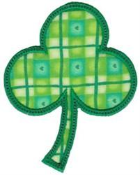 Applique Irish Shamrock embroidery design
