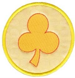Gold Coin Applique embroidery design
