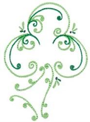 Decorative Shamrock embroidery design