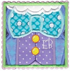 Easter Bunny Outfit embroidery design