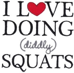 Exercise Sentiments embroidery design