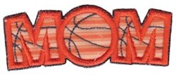 Basketball Mom Applique embroidery design