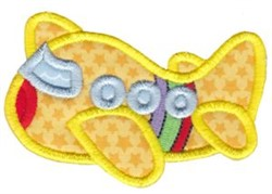 Applique Airplane embroidery design