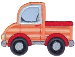 Pickup Truck Applique embroidery design