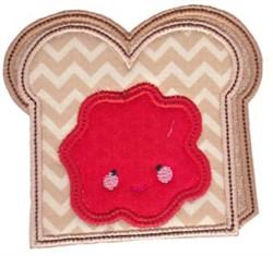 Kawaii Applique embroidery design