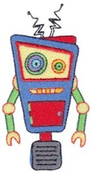 Zotbot Robot embroidery design