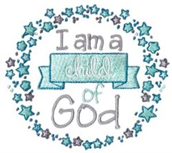 A Child Of God embroidery design