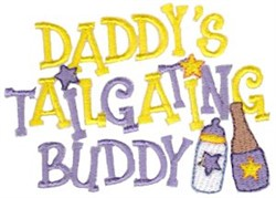 Tailgating Buddy embroidery design