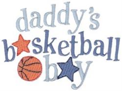 Basketball Boy embroidery design