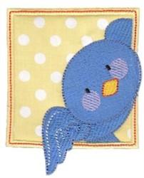 Blue Bird embroidery design