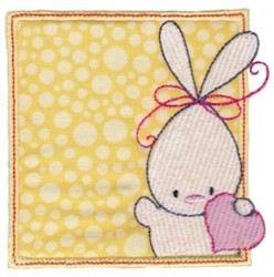 Easter Rabbit embroidery design