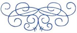Swirly Embellishment embroidery design