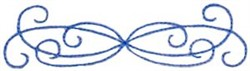 Decorative Swirls embroidery design