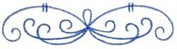 Embellishment Swirls embroidery design