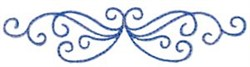 Curly Adornment embroidery design