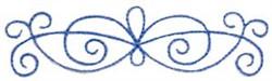 Swirly Decor embroidery design