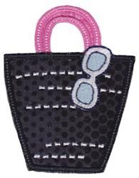 Applique Tote Bag embroidery design