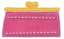 Applique Clutch embroidery design