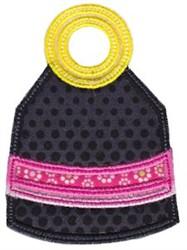 Applique Pocketbook embroidery design