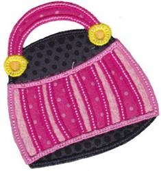 Applique Bag embroidery design