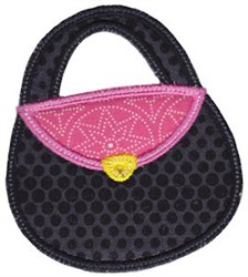 Bag Applique embroidery design